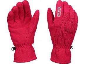 Nordblanc Gerry fleecové rukavice růžové