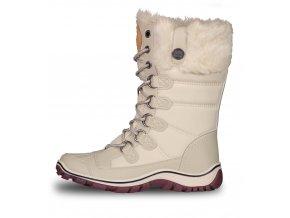 nordblanc icebear damske zimni boty bile