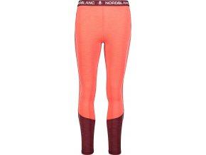 Nordblanc Imbue dámské lehké termo kalhoty červené