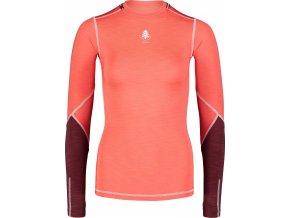 Nordblanc Wimple dámské lehké termo tričko červené