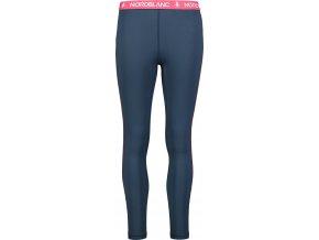 nordblanc confide damske zimni termo kalhoty tmave modre