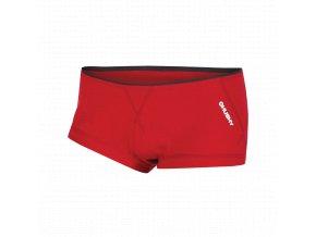 Husky Merino 100 dámské termo kalhotky červené
