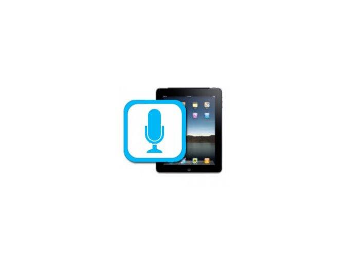 Nefunkční mikrofon iPad 2