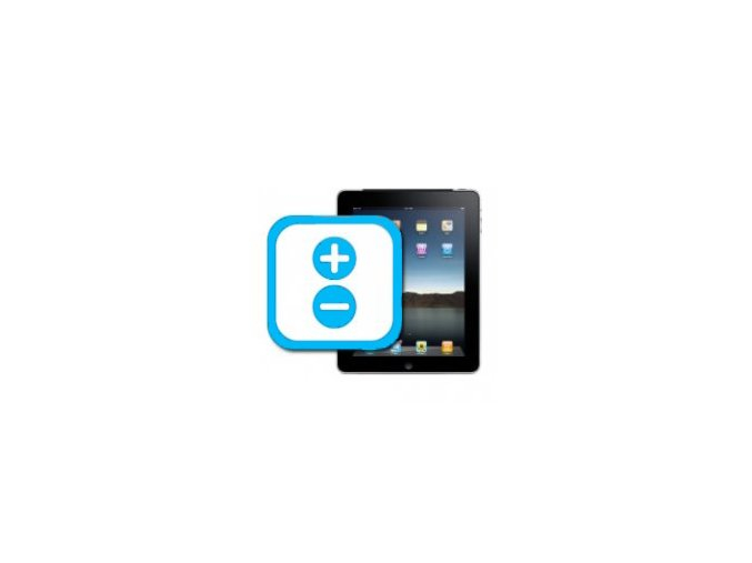 Nefunkční tlačítka hlasitosti iPad 2