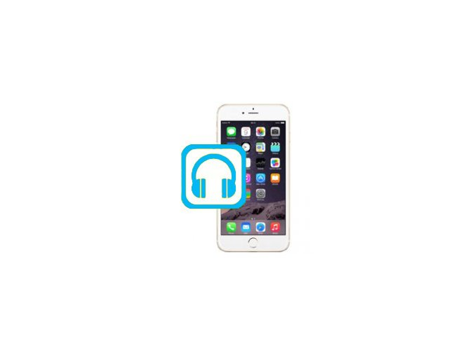 Oprava audio jack konektoru Iphone 6S Plus