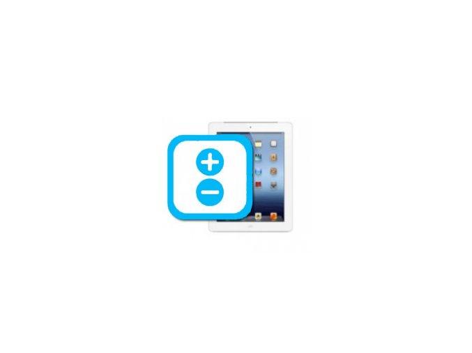 Nefunkční tlačítka hlasitosti iPad 4
