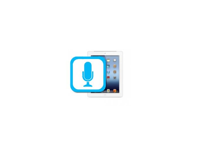 Nefunkční mikrofon iPad Mini 2