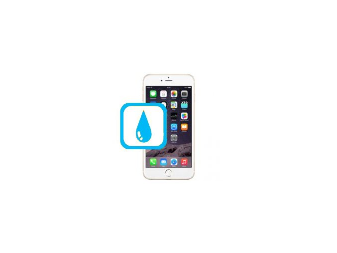 Čištění iPhone 6 po kontaktu s tekutinou