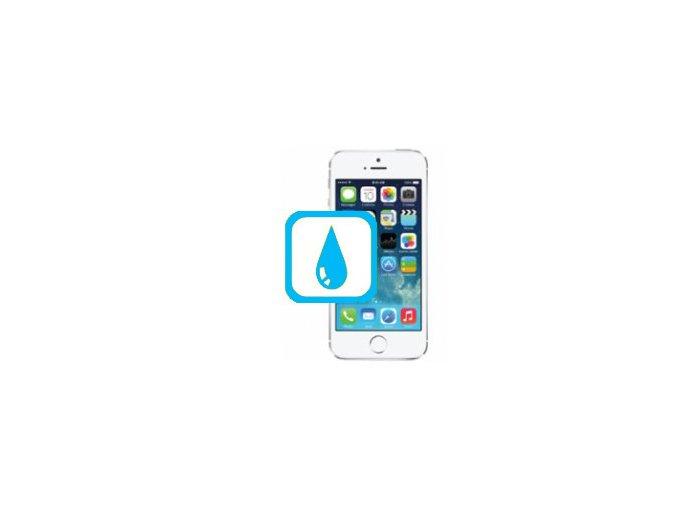 Čištění iPhone SE Po Kontaktu S Tekutinou