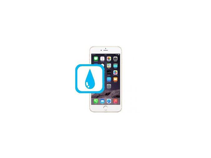 Čištění iPhone 6PLUS po kontaktu s tekutinou