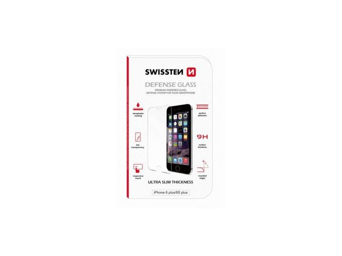 Ochranné Tvrzené Sklo SWISSTEN iPhone 7/8PLUS