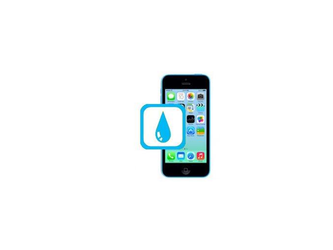 Čištění iPhone 5C po kontaktu s tekutinou