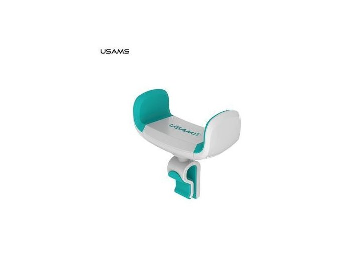 usams zj004 universal drzak do auta white green