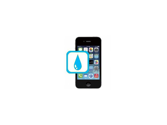 Kontakt s kapalinou Iphone 4s