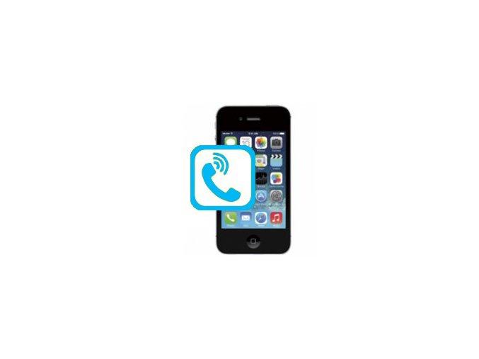 Oprava sluchátka Iphone 4s