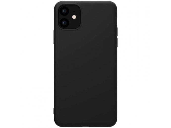 nillkin rubber wrapped protective case for apple iphone 11 black