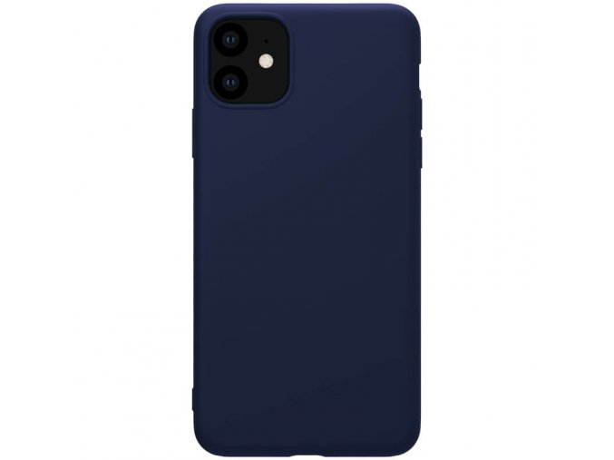 nillkin rubber wrapped protective case for apple iphone 11 blue