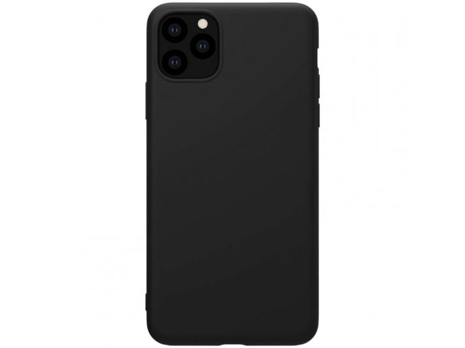 nillkin rubber wrapped protective case for apple iphone 11 pro black