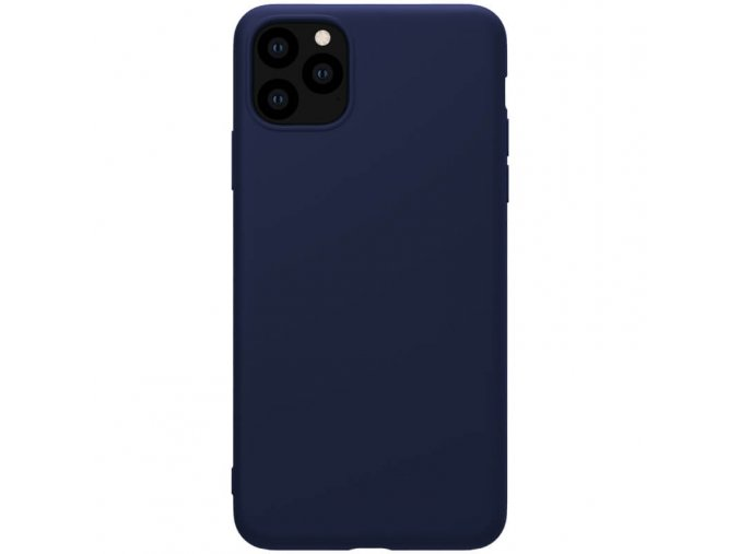 nillkin rubber wrapped protective case for apple iphone 11 pro blue