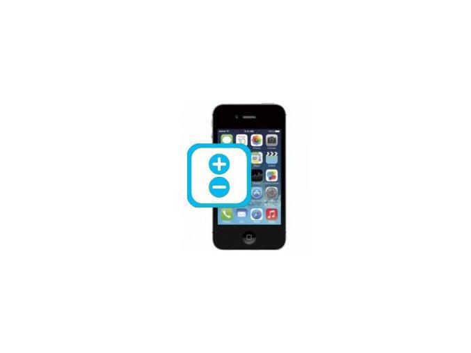 Oprava tlačítek hlasitosti Iphone 4