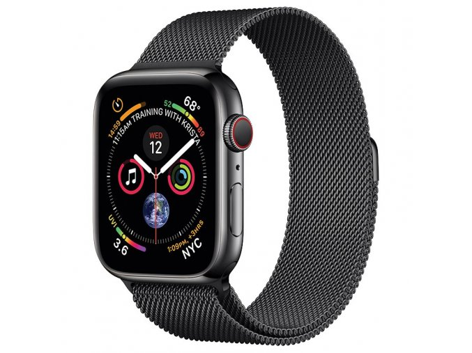 coteetci stainless steel magnet band for apple watch 42 44mm