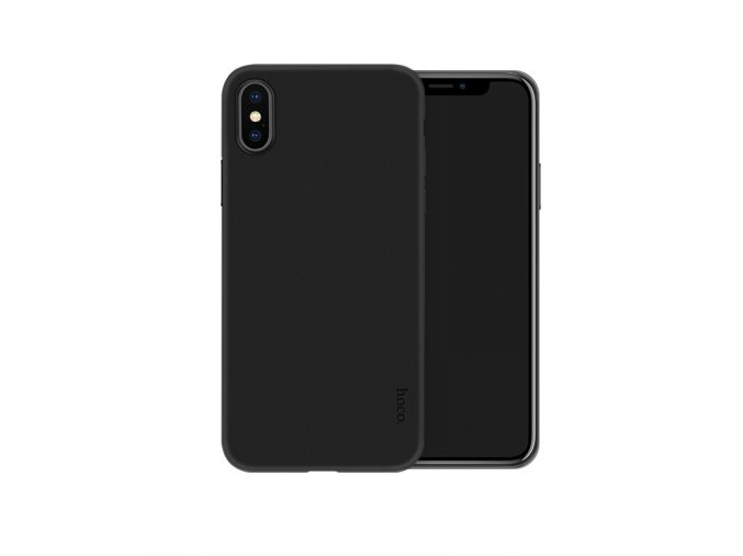 hoco thin series frosted case for iphone 5 8 jet black