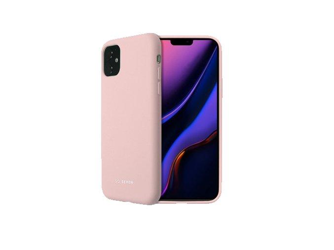 soseven smoothie silikonovy kryt pro iphone 11 pro pink eu blister 1