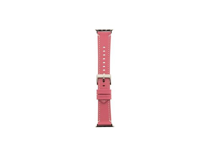 Tactical Kožený Řemínek pro Apple Watch 42/44mm - Růžový