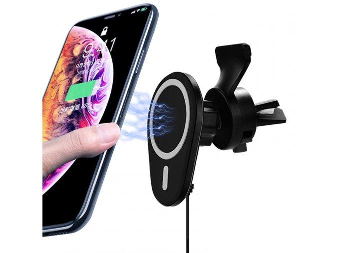 coteetci ws 29 iphone 12 series wireless charging car black 1