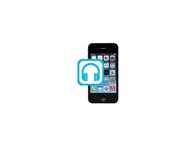 Oprava audio jack konektoru Iphone 4