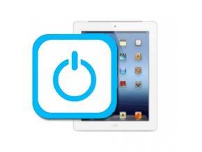 Nefunkční zapínací tlačitko iPad 4