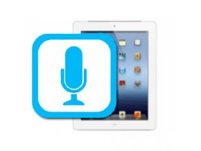 Nefunkční mikrofon iPad Mini 1