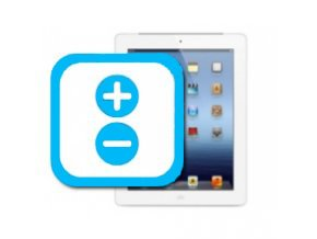 Nefunkční tlačítka hlasitosti iPad Mini 1