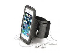 Sportovní neoprénové pouzdro CellularLine, velikost ML pro Apple iPhone 5/5S/SE a telefony podobných rozměrů, černé