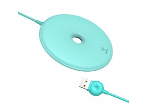 baseus donut wireless charger blue