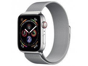 coteetci stainless steel magnet band for apple watch 38 40mm rmn
