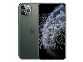 iPhone 11 Pro Max Screen Crack