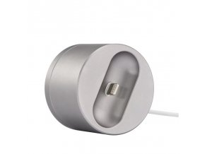 coteetci base20 charging dock for airpods silver