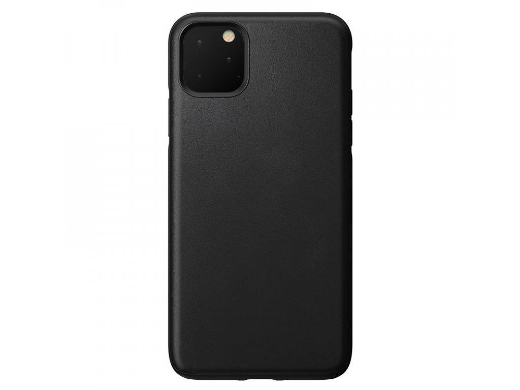 Nomad Rugged Leather case, black-iPhone 11 Pro Max