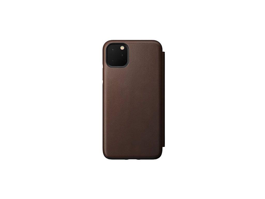 Nomad Folio Leather case, brown -iPhone 11 Pro Max