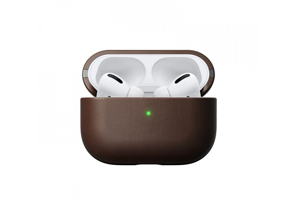Nomad Leather case, brown - AirPods Pro