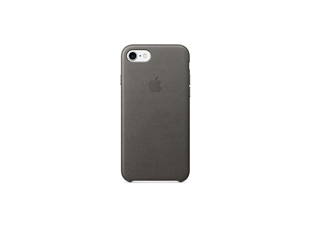 Apple iPhone 7 Plus Leather Case - Storm Gray