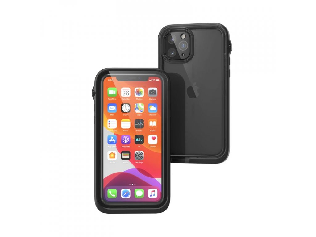 Catalyst Waterproof case, black - iPhone 11 Pro