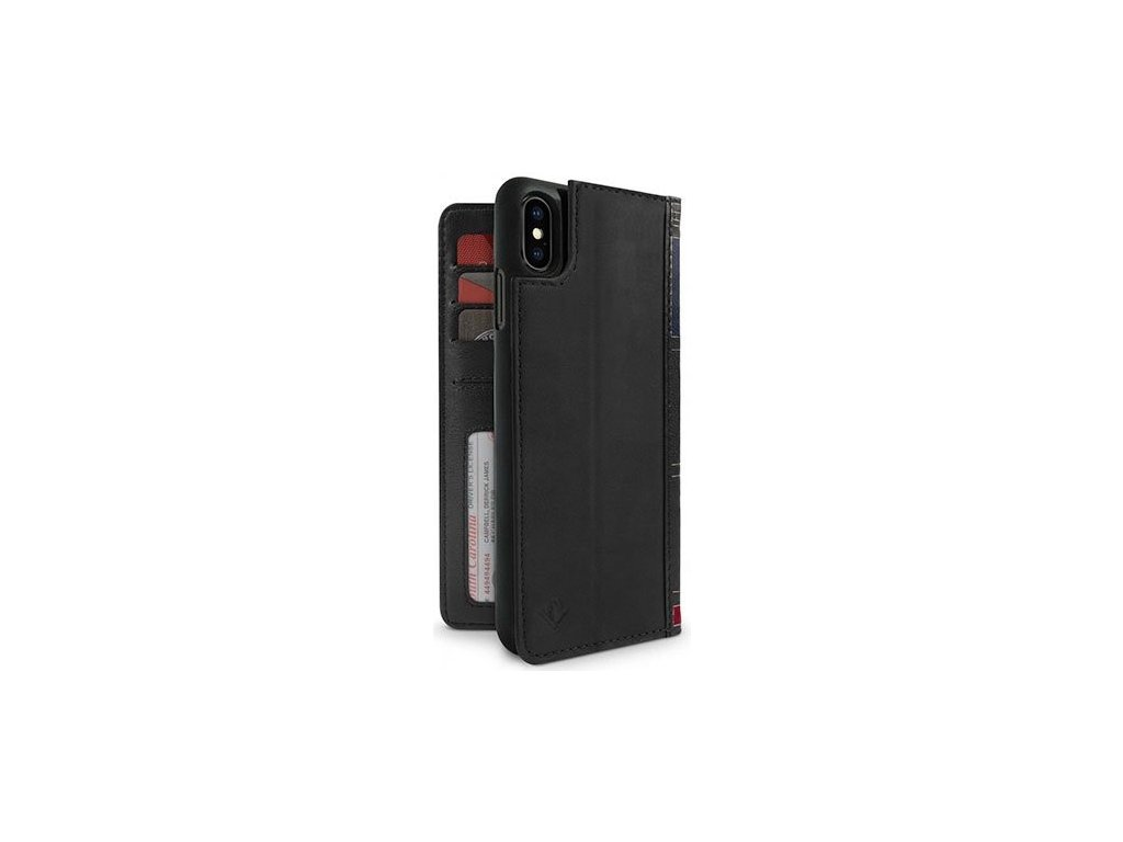 TwelveSouth BookBook for iPhone XS Max - black