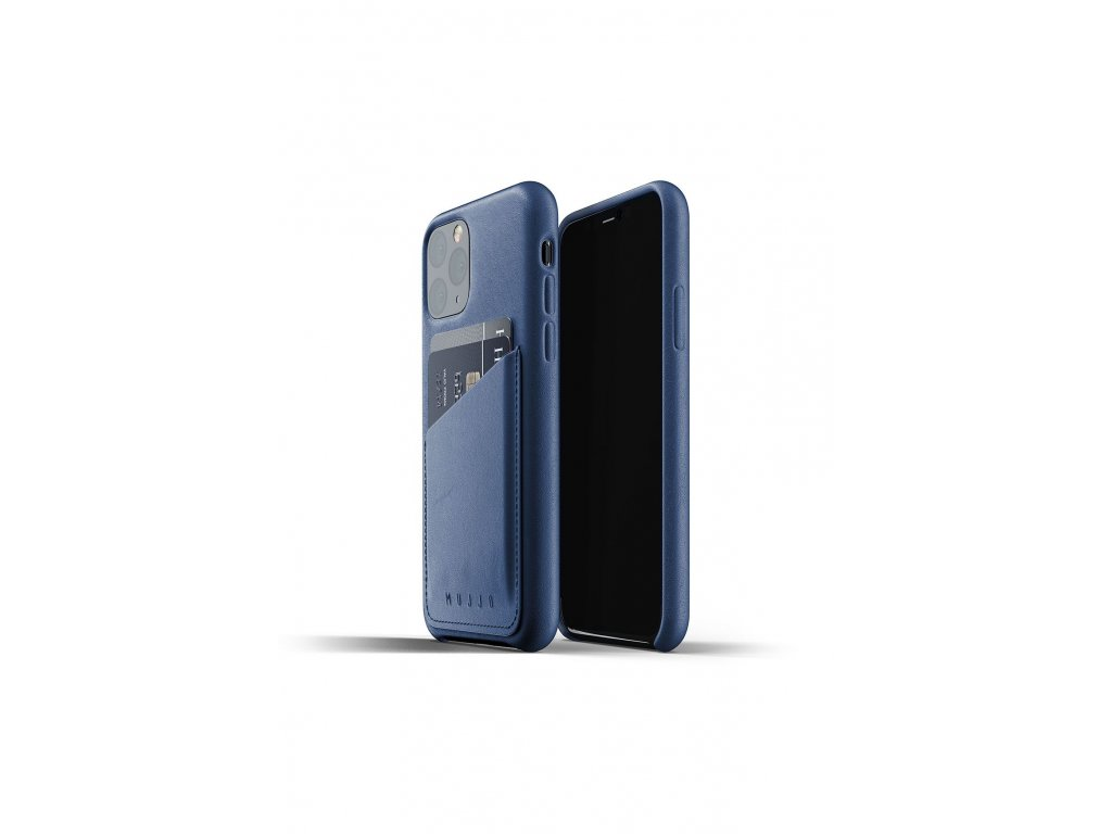 full leather wallet case for iphone 11pro blue packshot 01 (1)