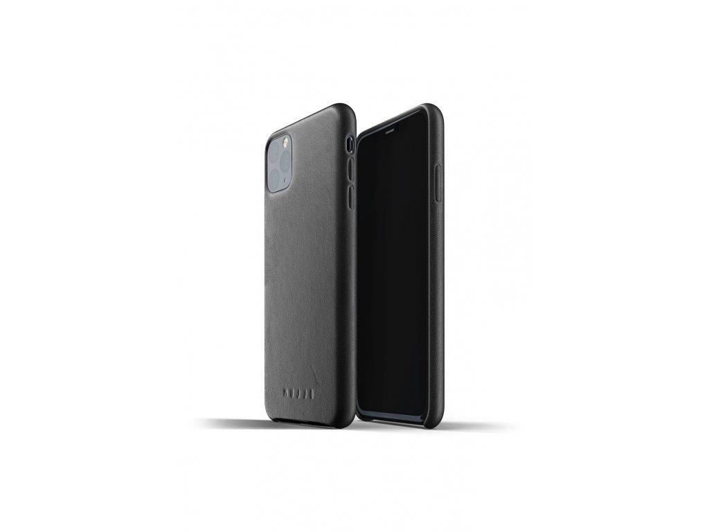 full leather case for iphone 11 max black packshot 01