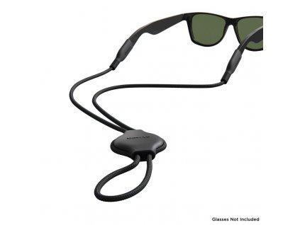 Nomad Glass Strap, black - Airtag