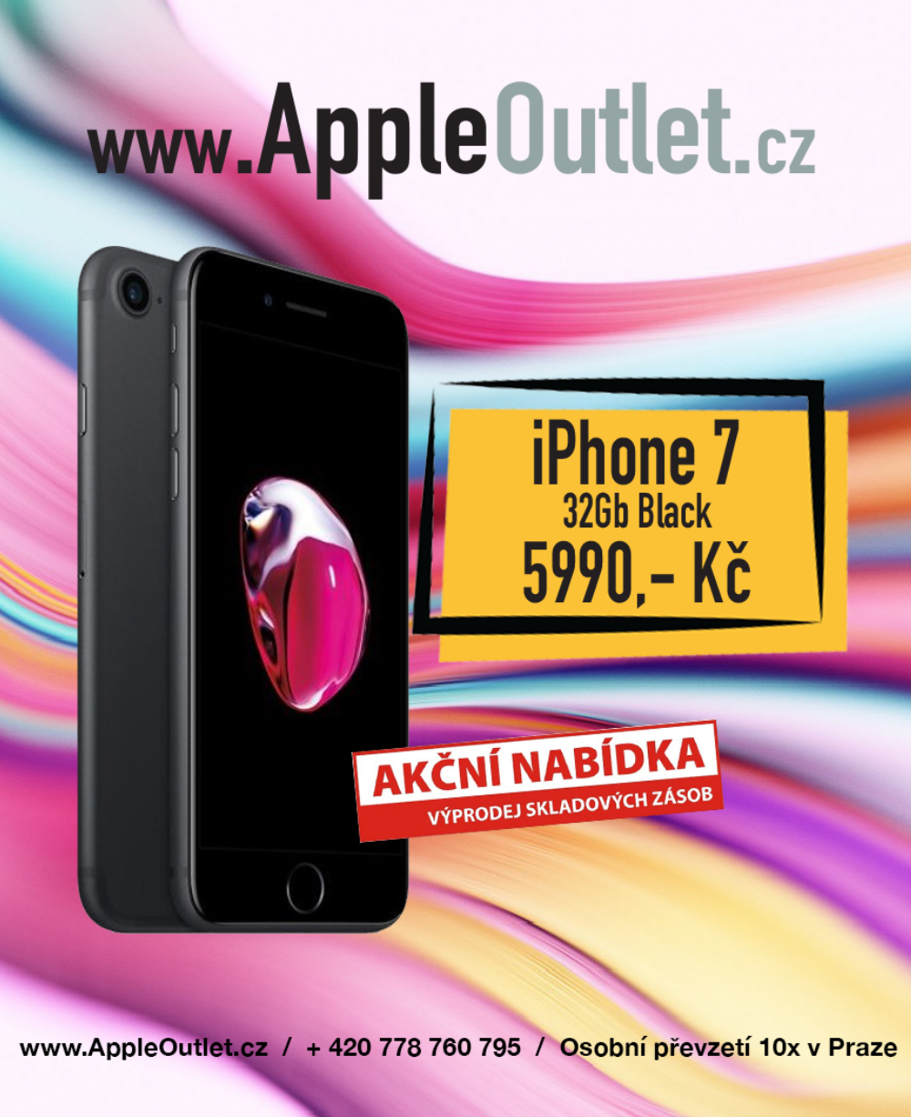 AKCE - Apple iPhone 7 / 32Gb / Černý