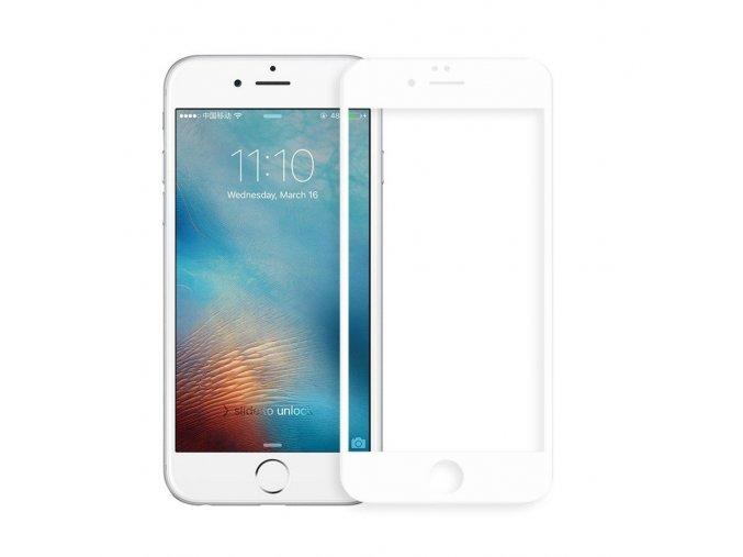 iphone 7 plus 8 plus 5d tvrzene sklo bile