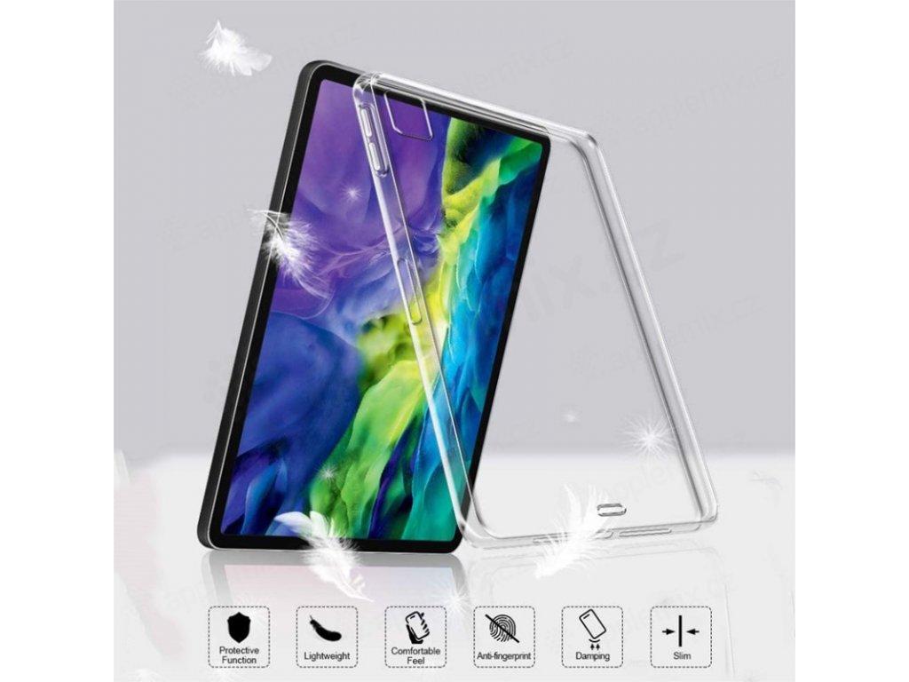 kryt obal pro apple ipad 11 2018 11 2020 gumovy pruhledny 2